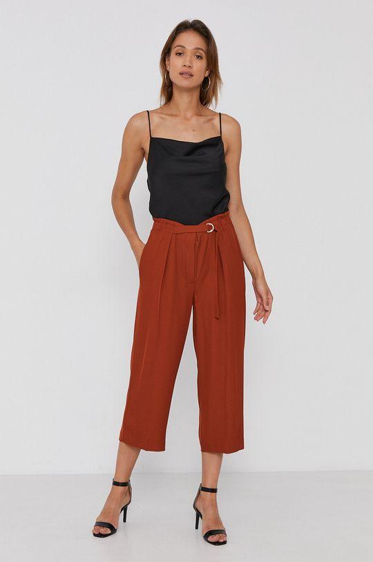 Dkny - Spodnie brązowy