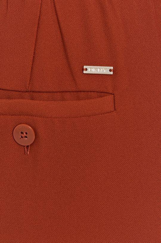 brązowy Dkny - Spodnie