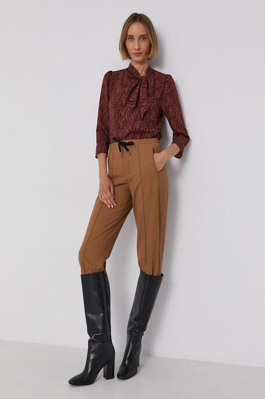Drykorn - Spodnie Access brązowy