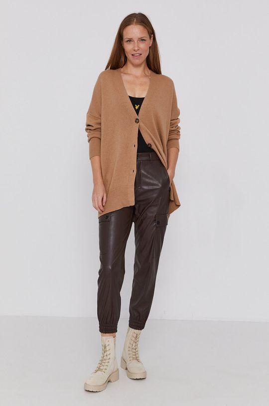 Drykorn - Spodnie Freight brązowy