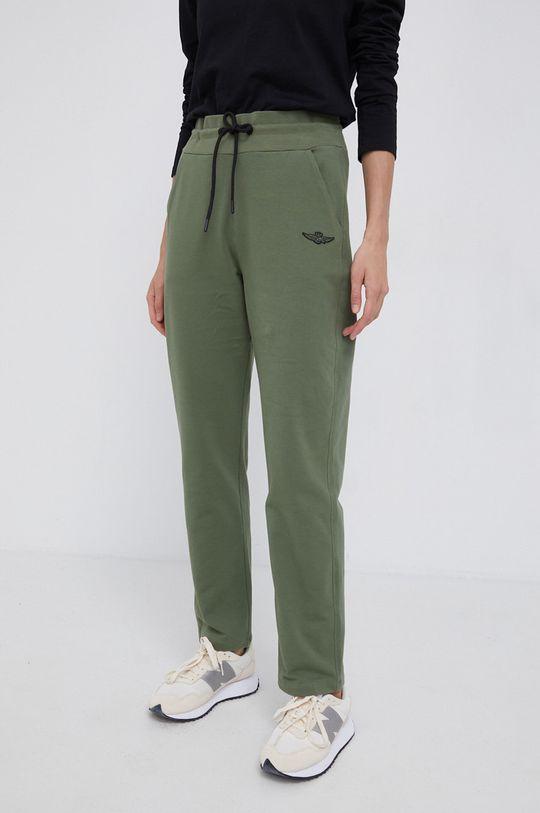 zielony Aeronautica Militare - Spodnie Damski