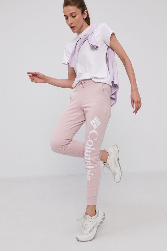 fiołkowo różowy Columbia - Spodnie Damski