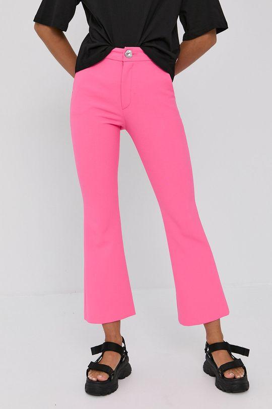 roz ascutit Chiara Ferragni - Pantaloni Uniform De femei