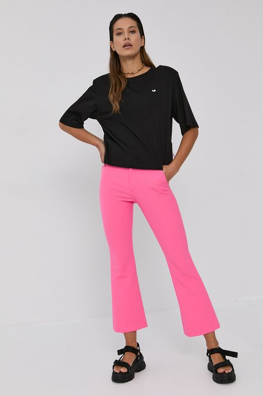 Chiara Ferragni - Pantaloni Uniform roz ascutit