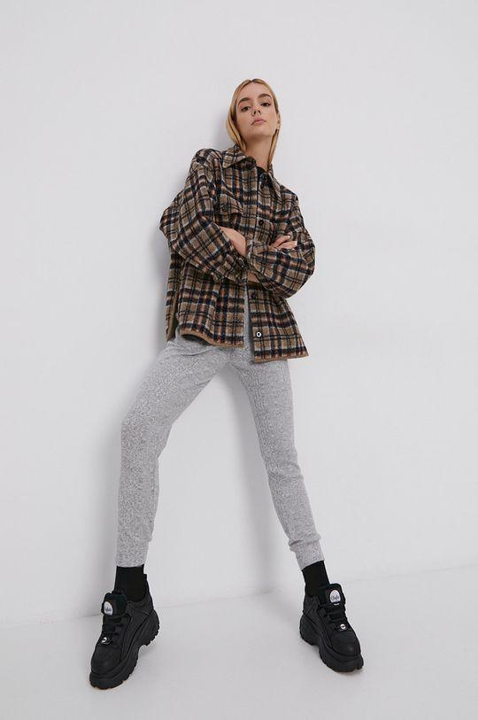 Roxy - Pantaloni gri deschis