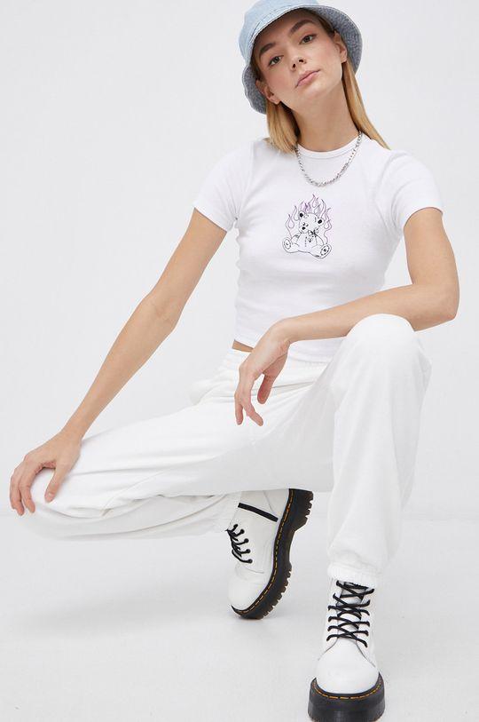 biały Roxy - Spodnie Damski