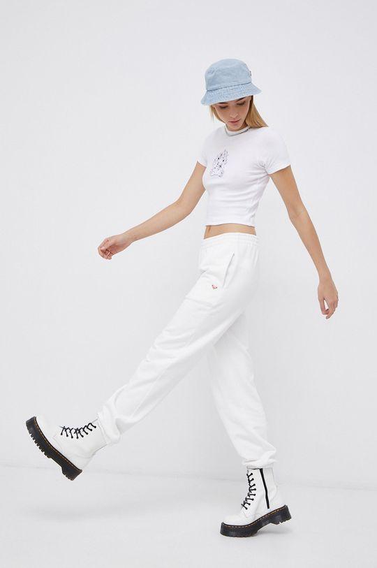 biały Roxy - Spodnie