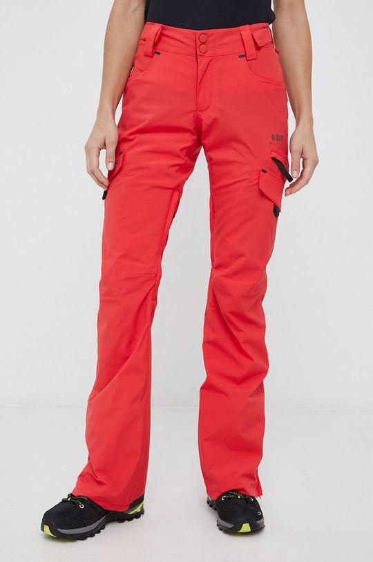 czerwony Billabong - Spodnie Damski