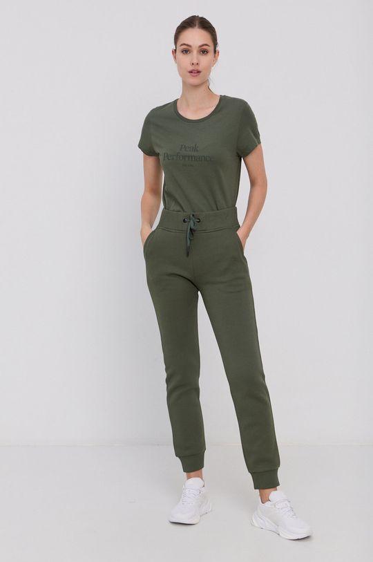 Peak Performance - Pantaloni verde maro