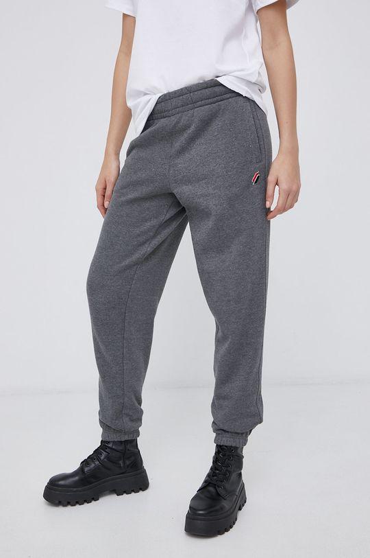 Superdry - Kalhoty šedá