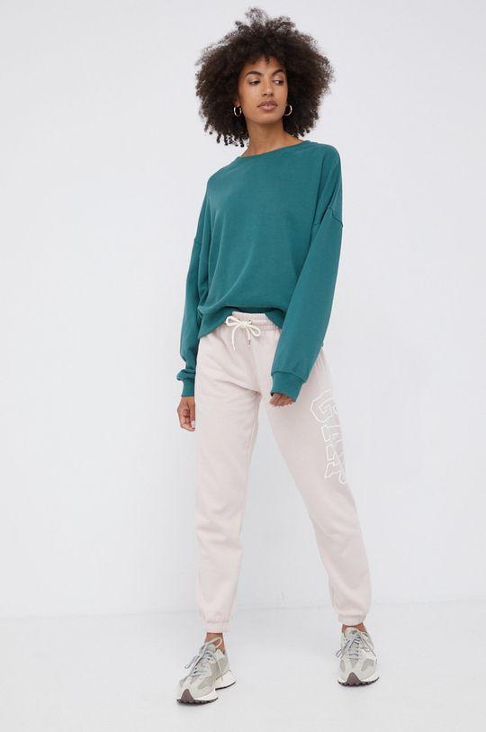 różowy GAP - Spodnie