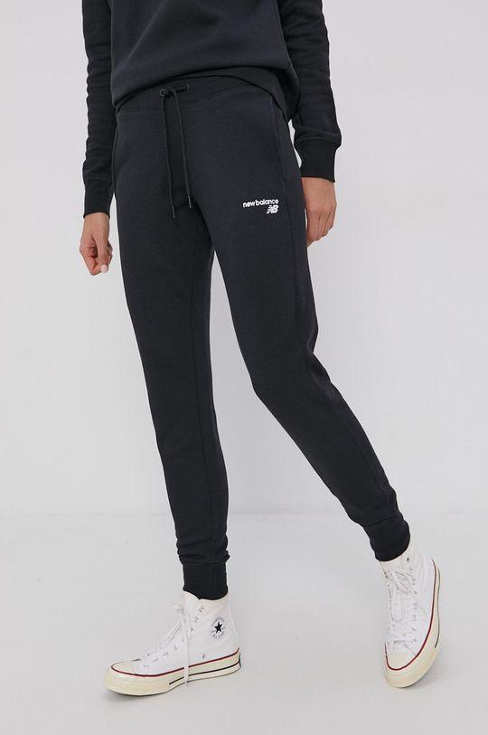 negru New Balance - Pantaloni De femei
