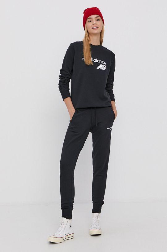 New Balance - Pantaloni negru