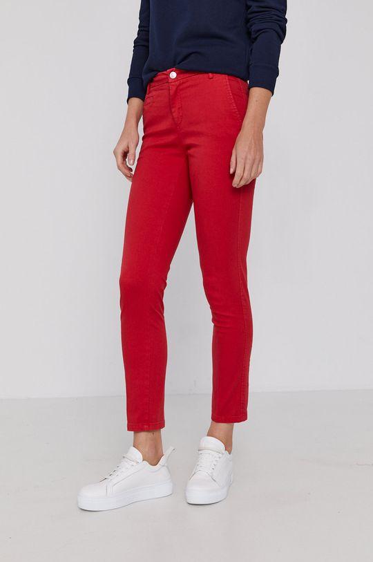 rosu United Colors of Benetton - Pantaloni De femei