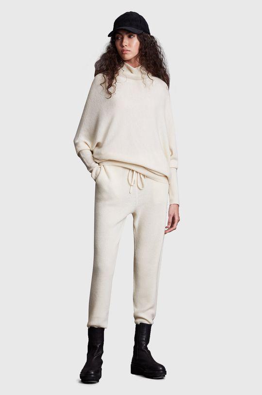 AllSaints - Spodnie 6 % Kaszmir, 94 % Wełna