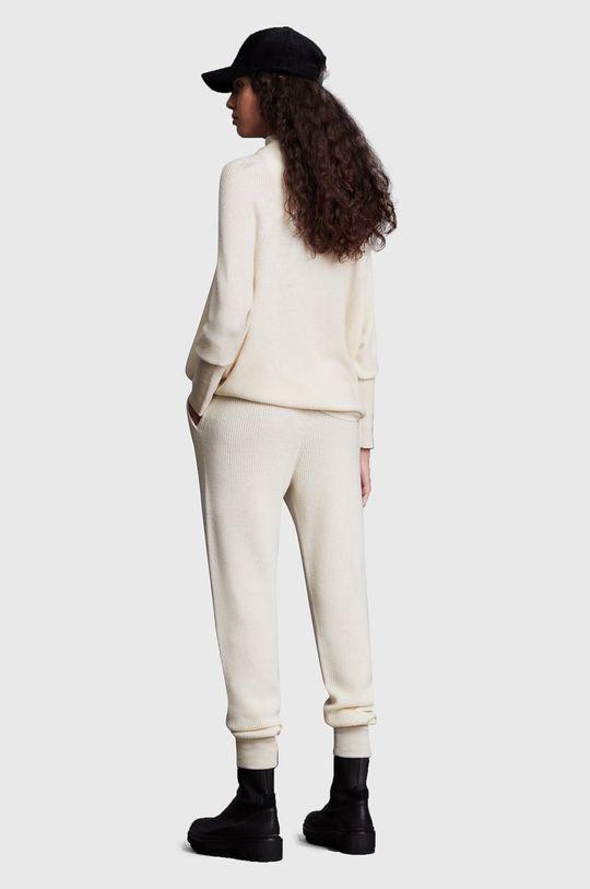 biały AllSaints - Spodnie