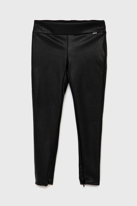 černá Guess - Dětské kalhoty Dívčí