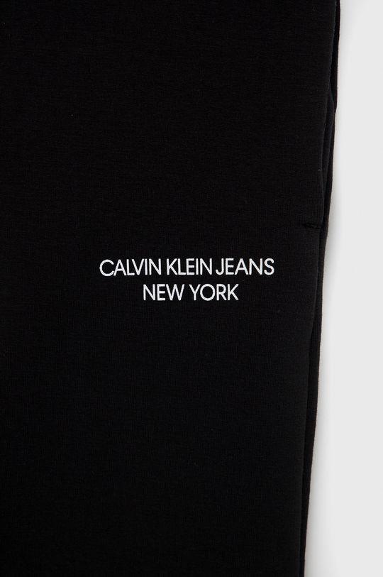 Calvin Klein Jeans - Spodnie dziecięce 94 % Bawełna, 6 % Elastan
