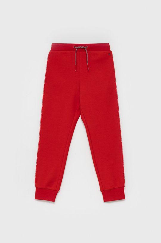 czerwony Tommy Hilfiger - Spodnie dziecięce Dziewczęcy