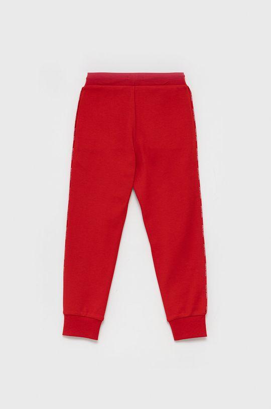 Tommy Hilfiger - Spodnie dziecięce czerwony