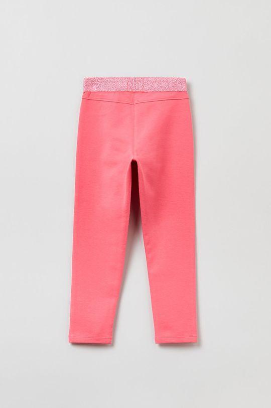 OVS - Spodnie dziecięce różowy