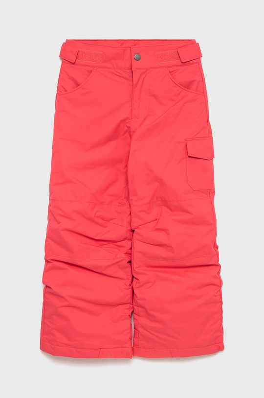 ostry różowy Columbia - Spodnie dziecięce Dziewczęcy