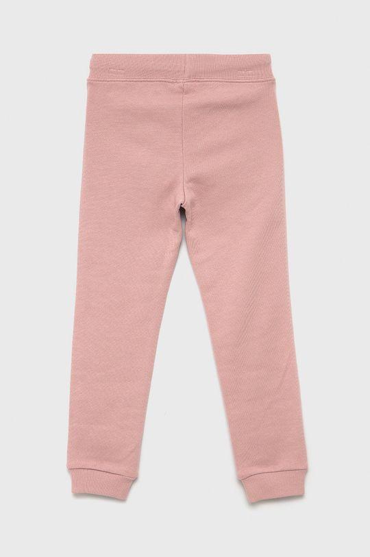 United Colors of Benetton - Spodnie dziecięce różowy