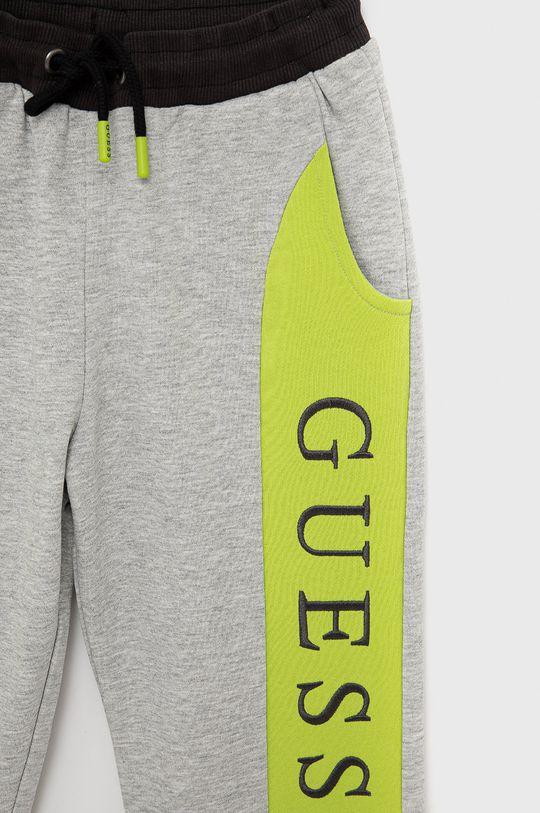 Guess - Dětské kalhoty  95% Bavlna, 5% Elastan