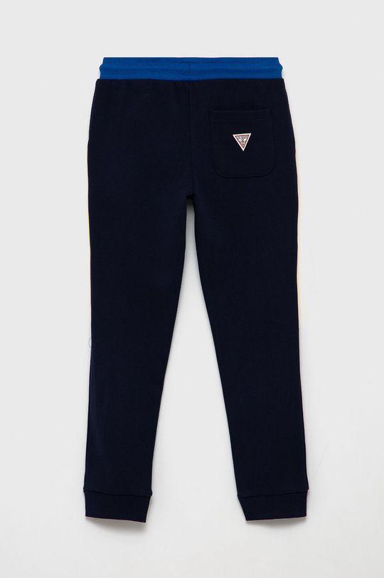 Guess - Dětské kalhoty námořnická modř