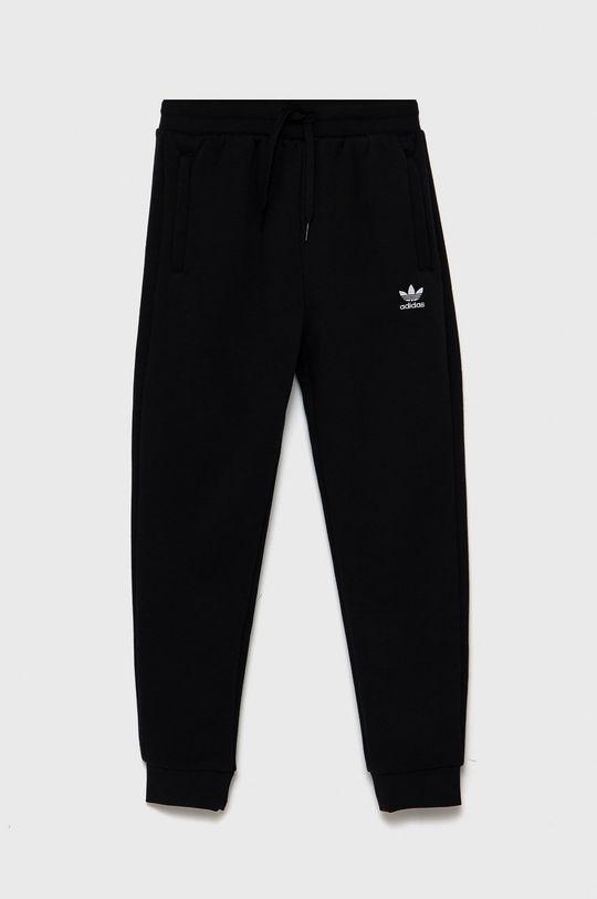 czarny adidas Originals - Spodnie dziecięce Dziecięcy