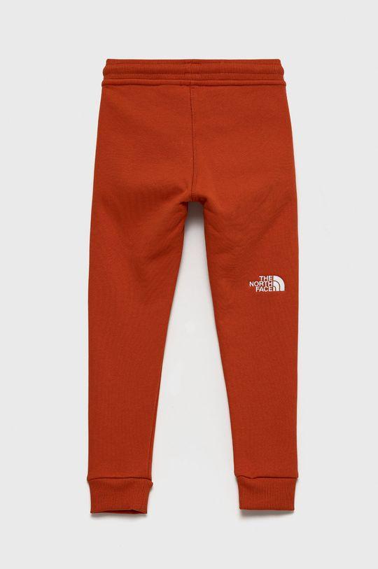 The North Face - Spodnie bawełniane dziecięce 100 % Bawełna