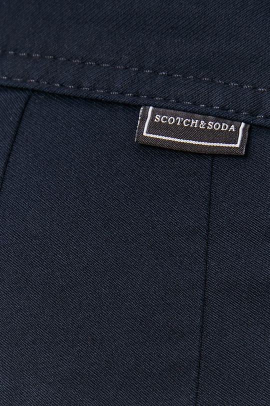 granatowy Scotch & Soda - Spodnie