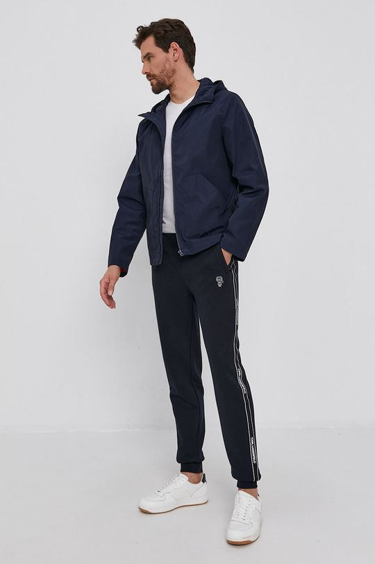 Karl Lagerfeld - Spodnie granatowy