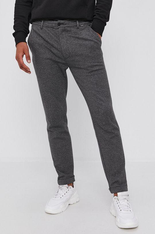 szary Calvin Klein - Spodnie Męski