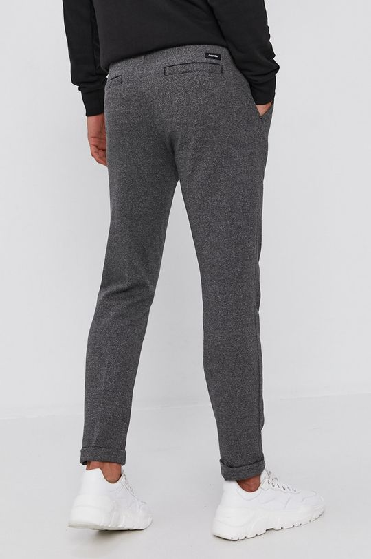 Calvin Klein - Spodnie 41 % Bawełna, 3 % Elastan, 21 % Poliamid, 35 % Wiskoza