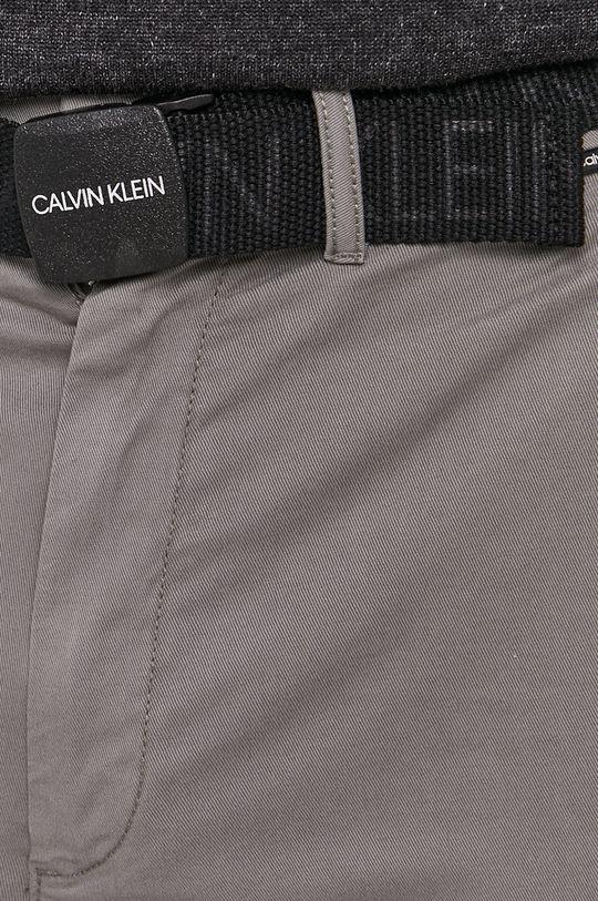 světle šedá Calvin Klein - Kalhoty