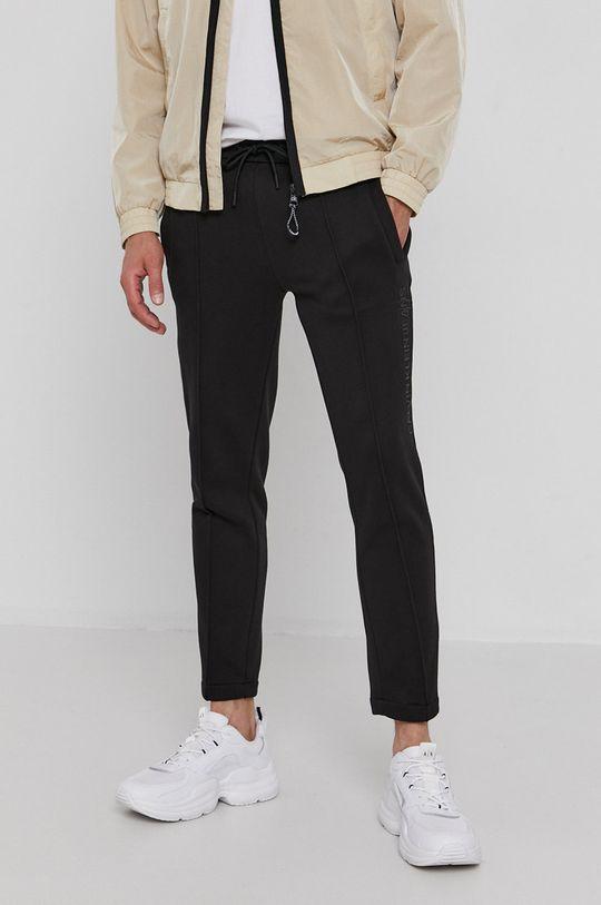 czarny Calvin Klein Jeans - Spodnie Męski