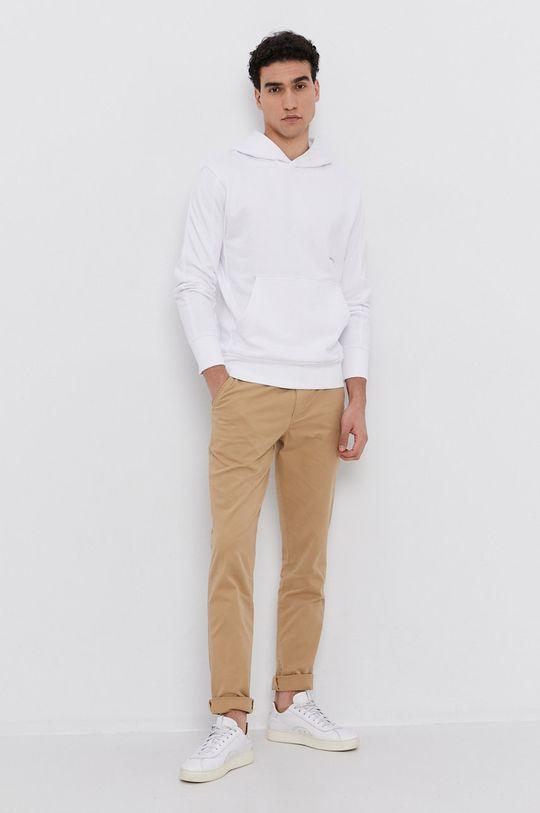 Calvin Klein Jeans - Nohavice béžová