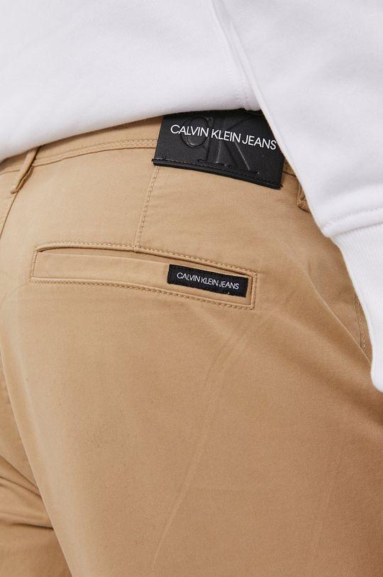 béžová Calvin Klein Jeans - Nohavice
