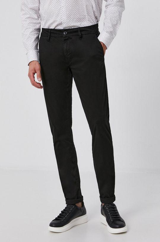 černá Guess - Kalhoty Pánský