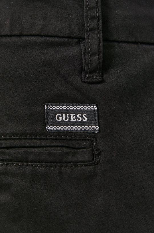 černá Guess - Kalhoty