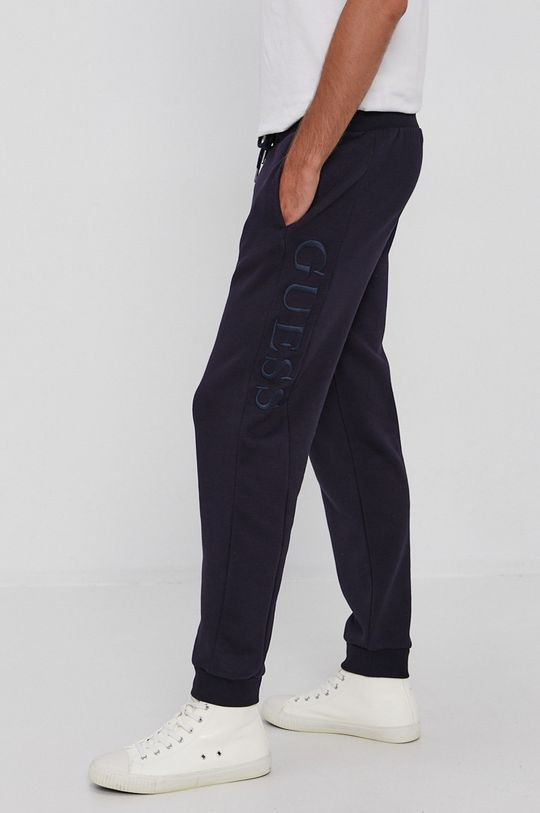 granatowy Guess - Spodnie Męski