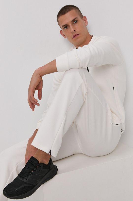 biały Guess - Spodnie Męski