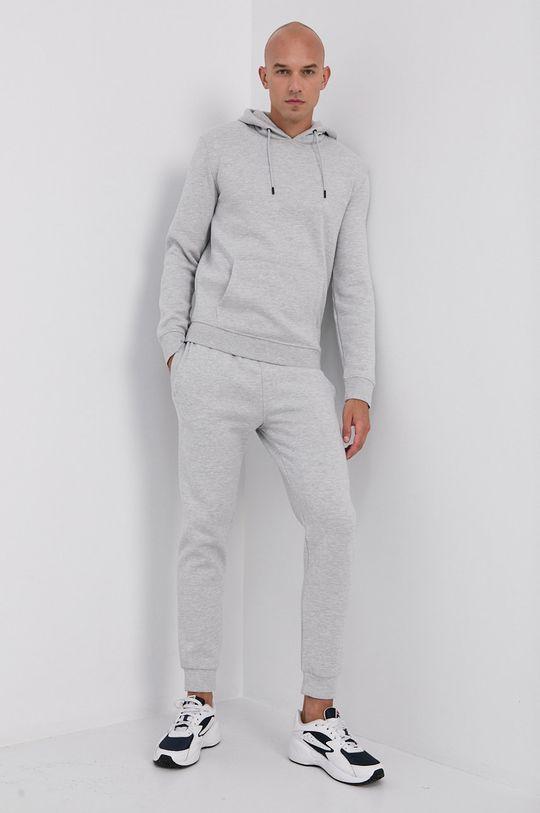 Guess - Kalhoty světle šedá