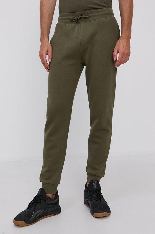 oliwkowy Guess - Spodnie Męski