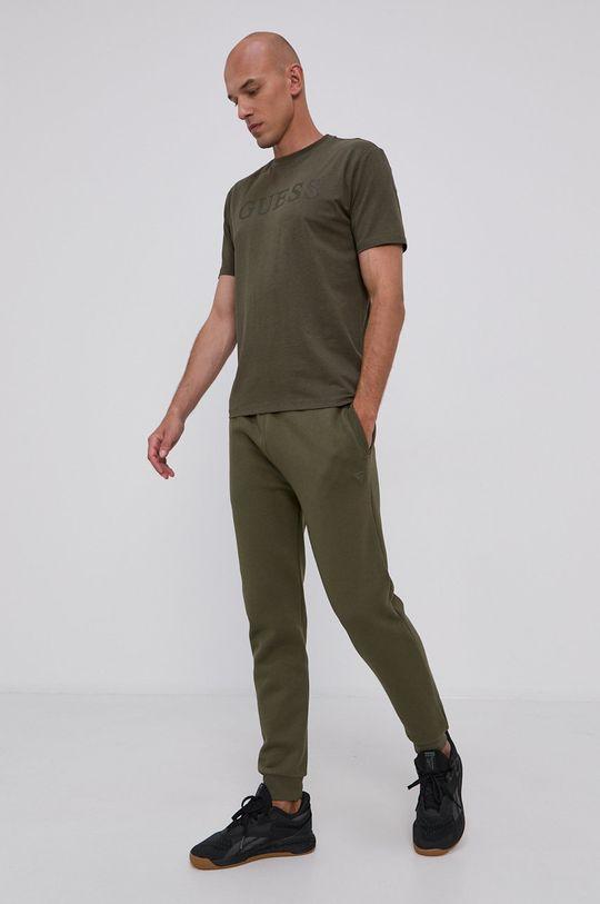 Guess - Spodnie oliwkowy