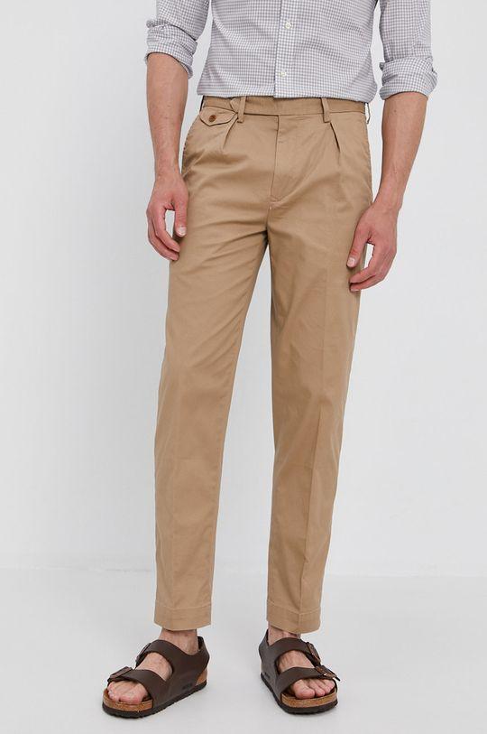 béžová Polo Ralph Lauren - Kalhoty Pánský