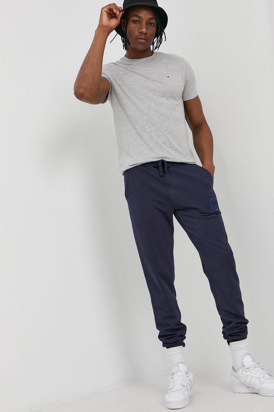Tommy Jeans - Spodnie granatowy