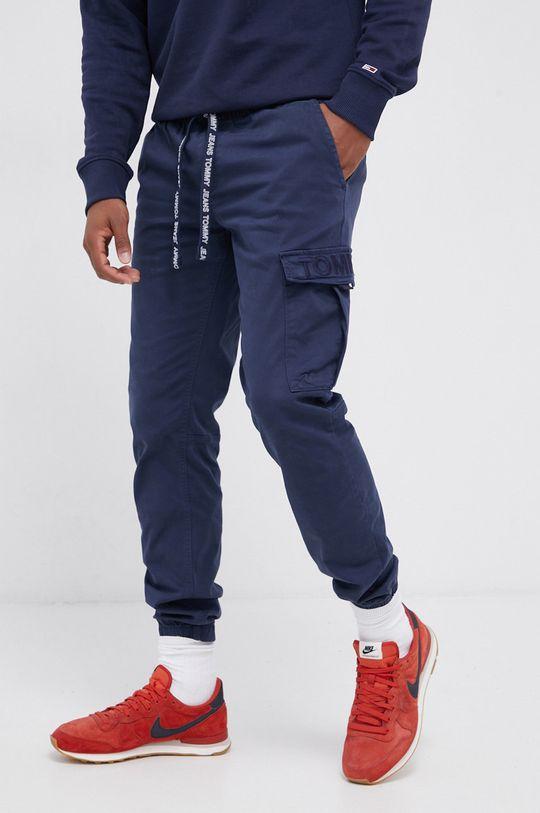 granatowy Tommy Jeans - Spodnie Męski