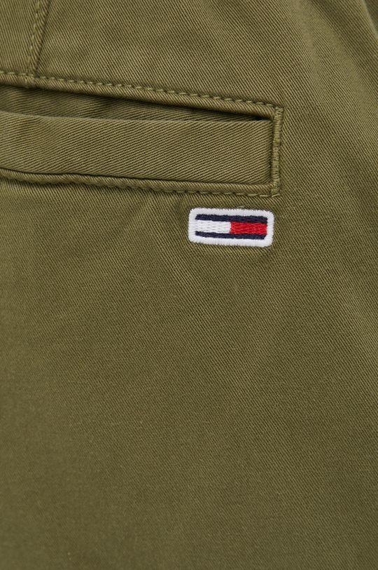 jasny oliwkowy Tommy Jeans - Spodnie
